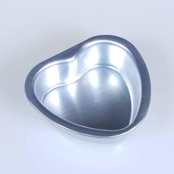 Aluminum Heart bath Bomb mould
