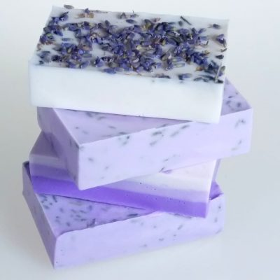Lavender Oatmeal and Shea Soap Kit bars