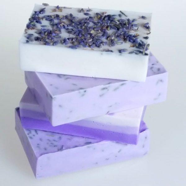 Lavender Oatmeal and Shea Soap Kit bars