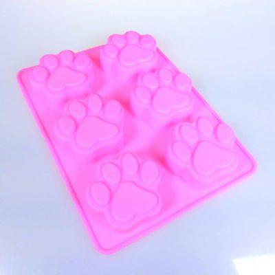 dog paw silicone mould