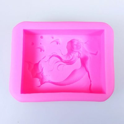 Mermaid Silicone Soap Mould