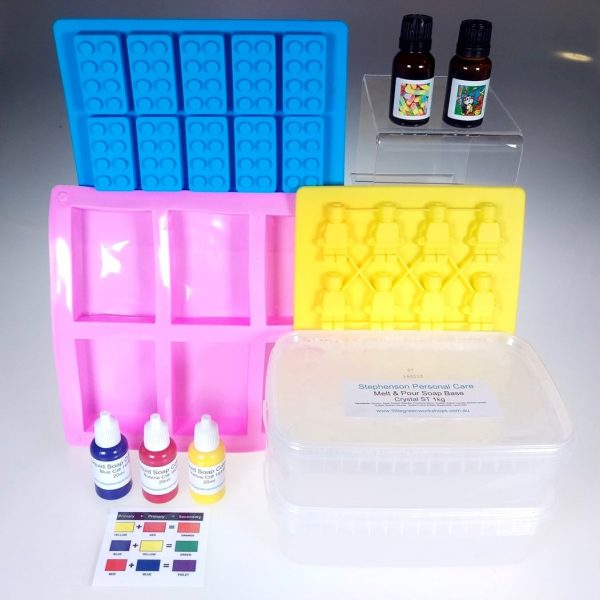 Robots and Blocks Soap Kit 2kg