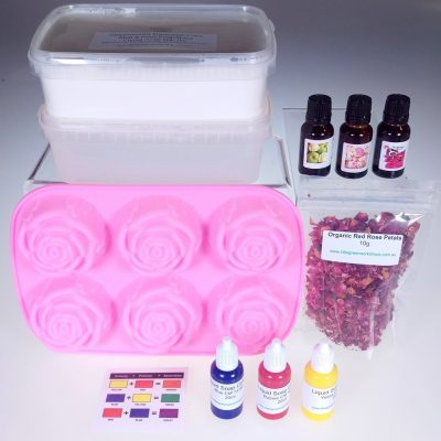 Roses Galore Soap Kit