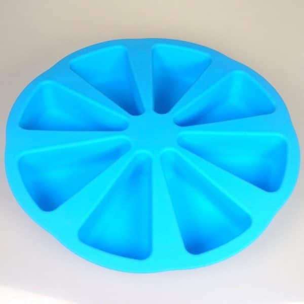 Cake Slice 8 Cavity Silicone Mould