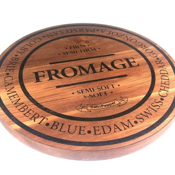 Salt&Pepper FROMAGE 28cm Round Cheese Board close up