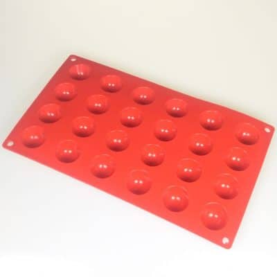 Half Sphere 24 Cavity Silicone Mould