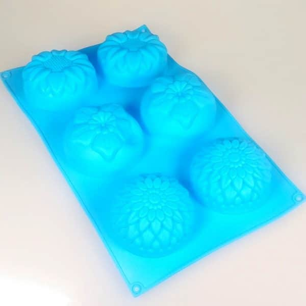 Flower Petals 6 cavity silicone mould
