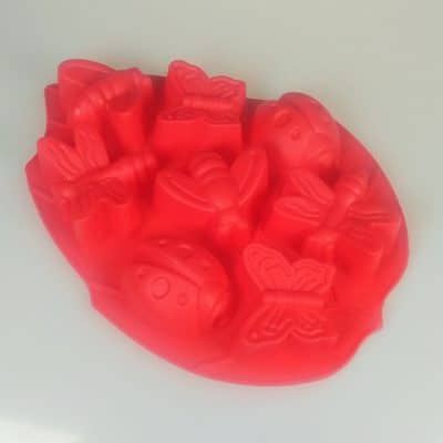 bugs 8 cavity Silicone Mould