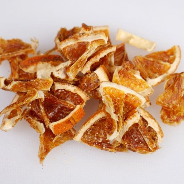 dried orange segments