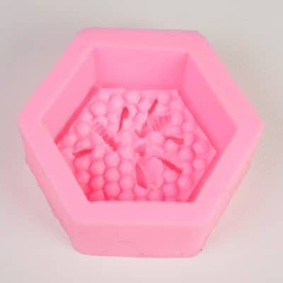 Bee Honeycomb Silicone Mould