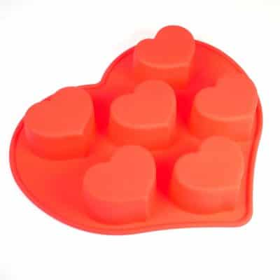 Curvy Heart Silicone Mould