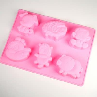 Multi Animal Silicone Mould