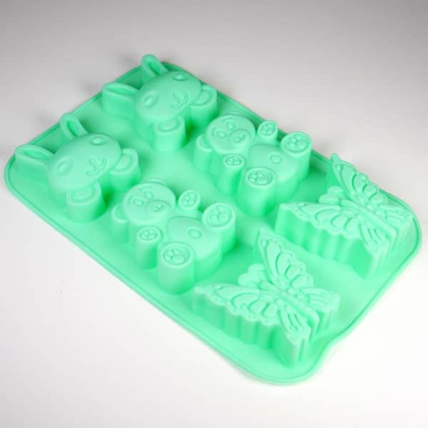 Bunny Teddy Butterfly Silicone Mould