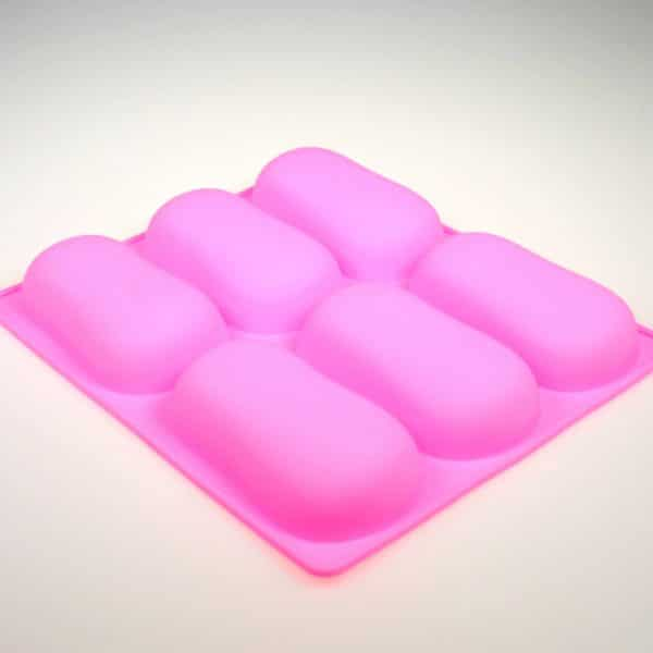 Curved Oval Bar Silicone mould