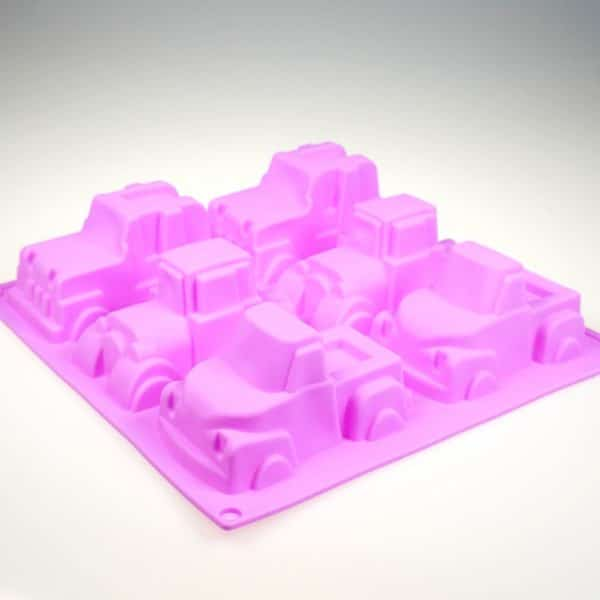 Mega Trucks Silicone Mould
