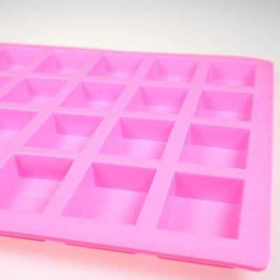 Rectangle 24 Cavity Silicone Mould Close up