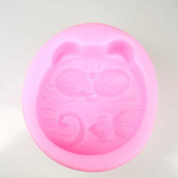 Cat and Fish Silicone Mould
