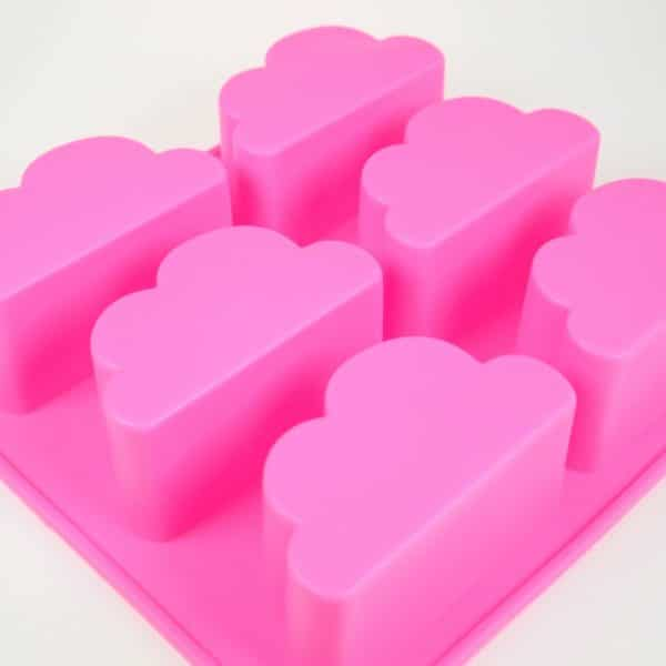 Cloud Silicone Mould Close up