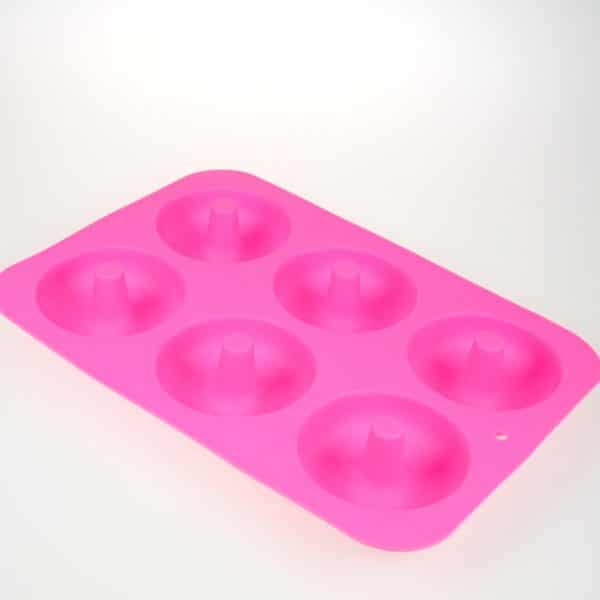 Doughnut silicone mould
