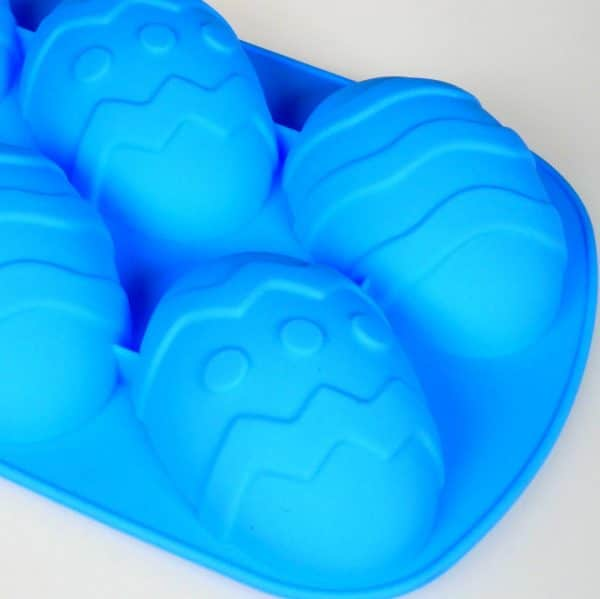 Easter Egg silicone mould closeup