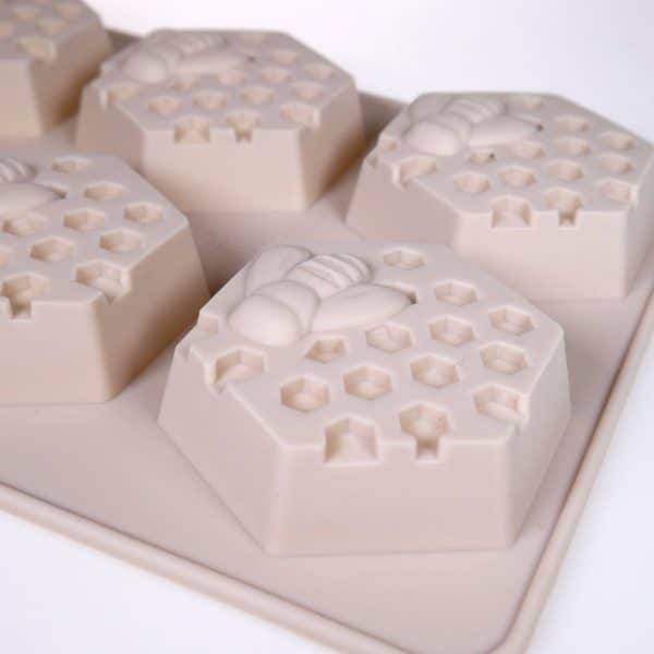Honey Bee Silicone mould closeup