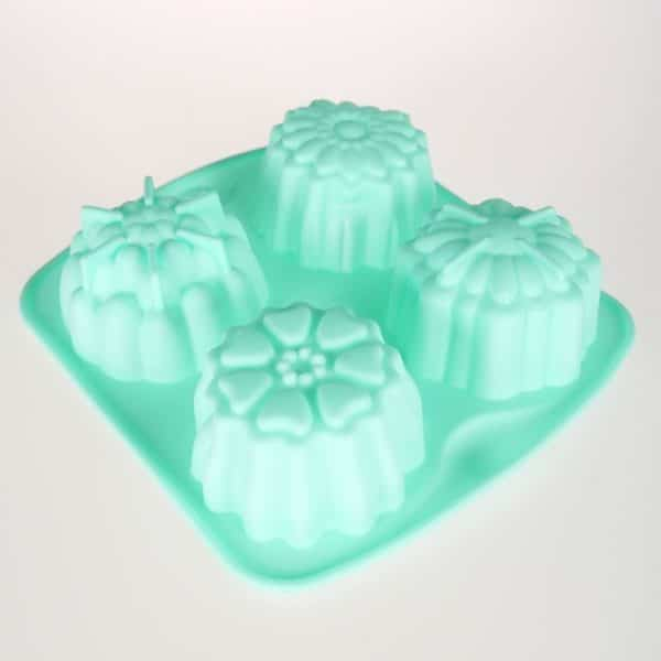 Lattice Flowers Silicone Mould