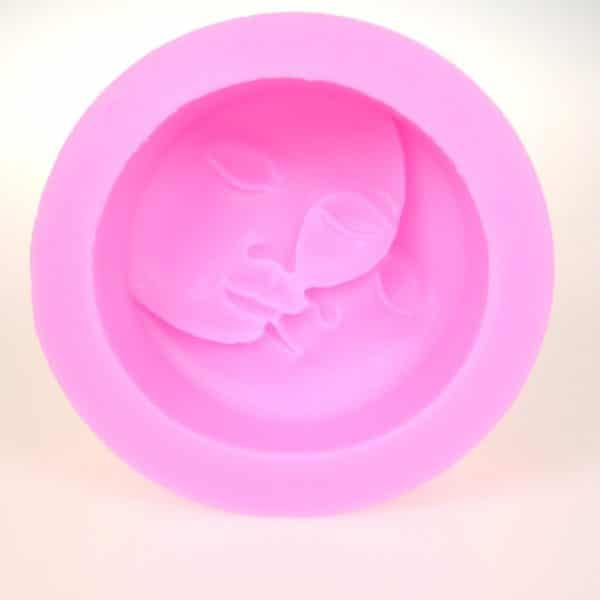 Moon Sun Silicone Mould Closeup