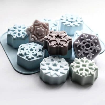 Snow Flake Silicone Mould