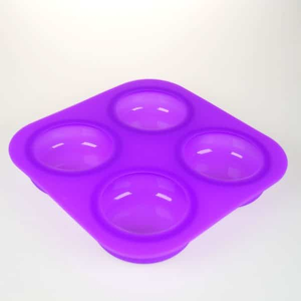 Curvy Circles Silicone Mould