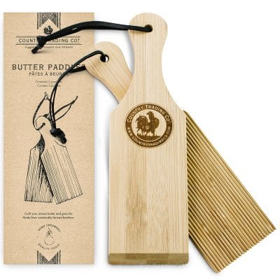Make Your Own Butter & Yogurt Kit Butter Paddles