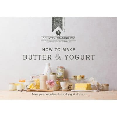 Make Your Own Butter & Yogurt Kit Book