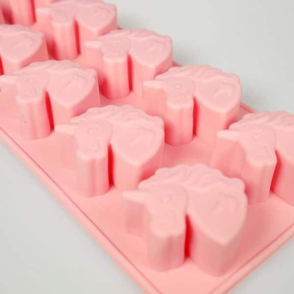 Mini Unicorn Silicone Mould 10 Cavity