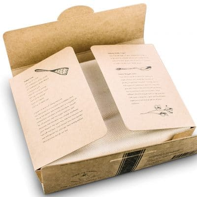Certified Organic Cotton Cheesecloth box