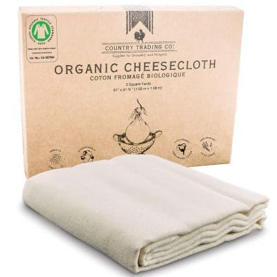 Certified Organic Cotton Cheesecloth