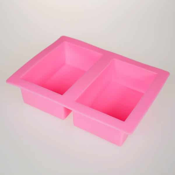 Rectangle 2 Cavity Silicone Mould