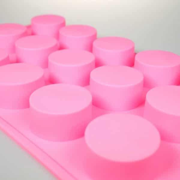 Round Silicone Mould 15 Cavity
