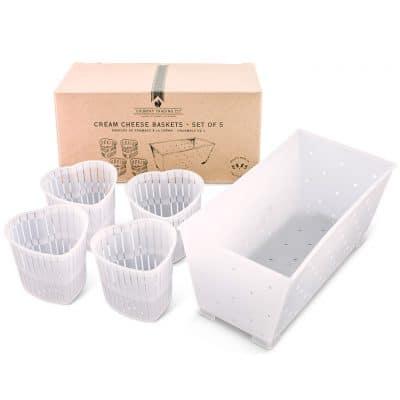 Cream Cheese Baskets - Set of 5