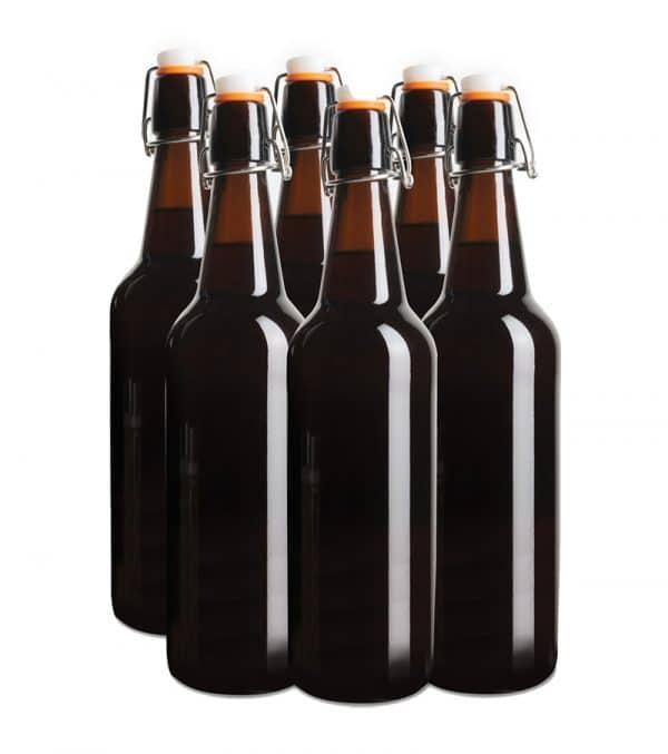 Glass Flip Top Bottles 750ml