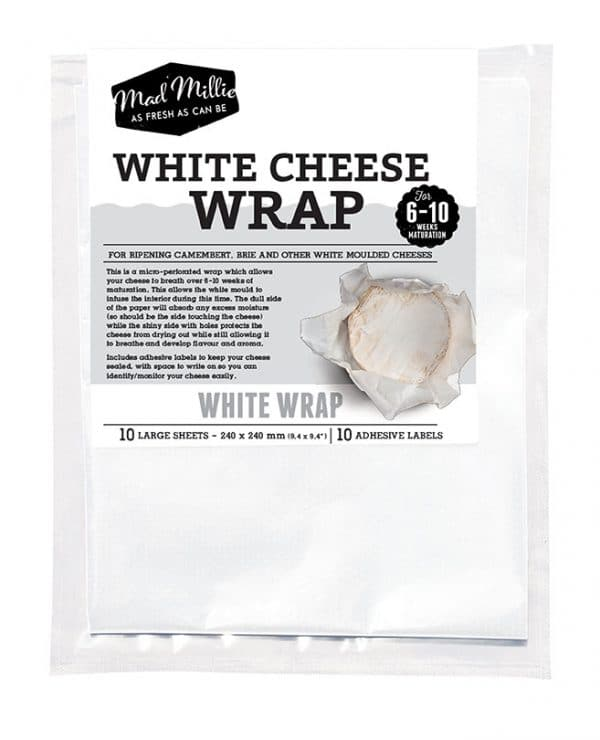 White Cheese Wrap 10 Pack