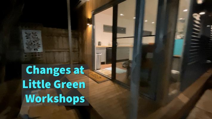 video tutorials at Little Green Workshops