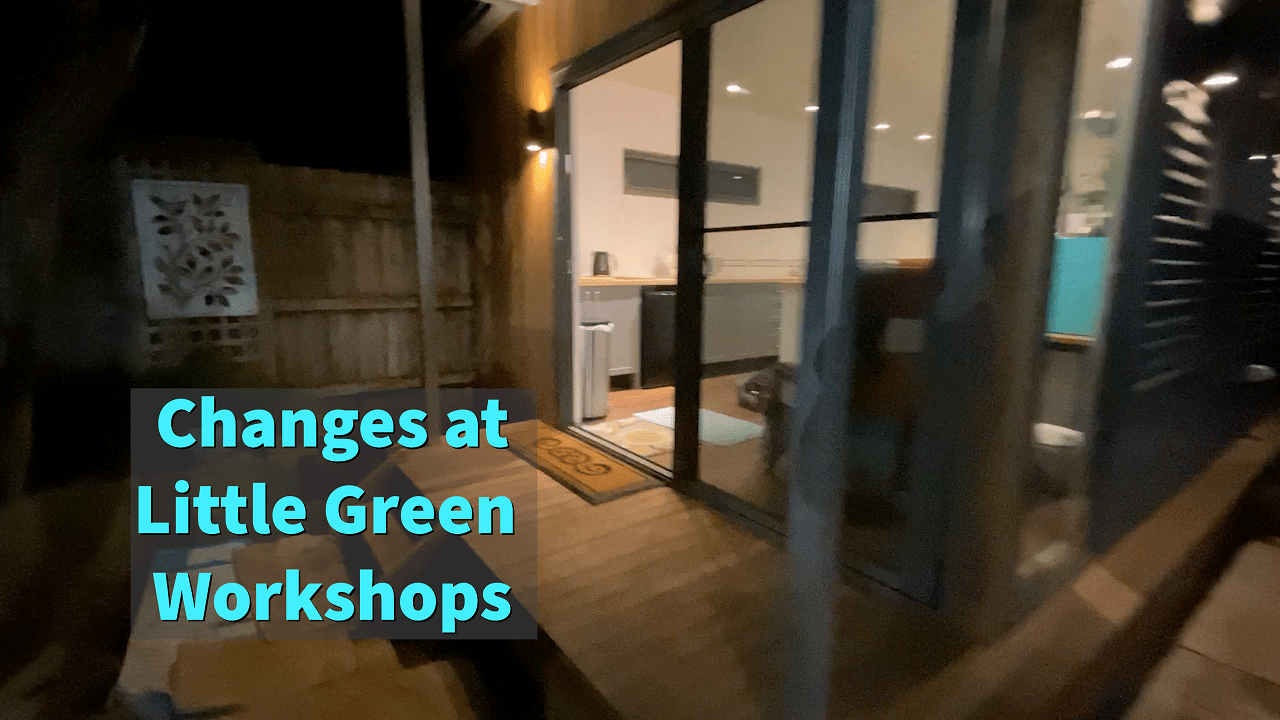 video tutorials at Little Green Workshops