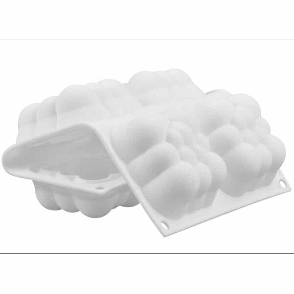 3D Bubble Cloud Silicone ould