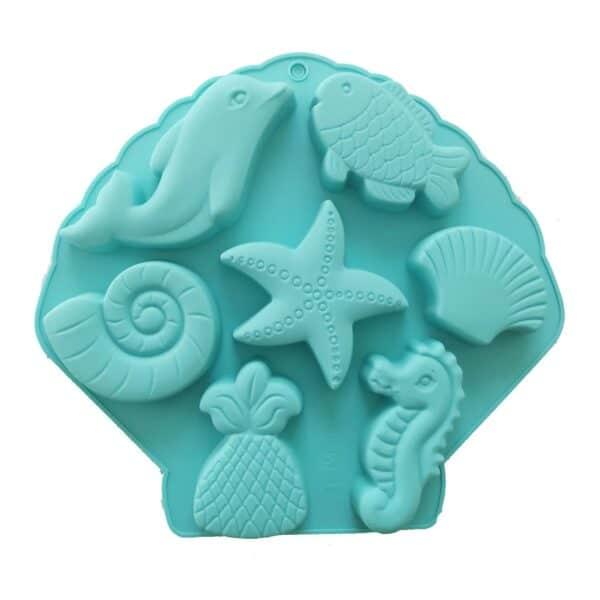 Marine Life Silicone Mould
