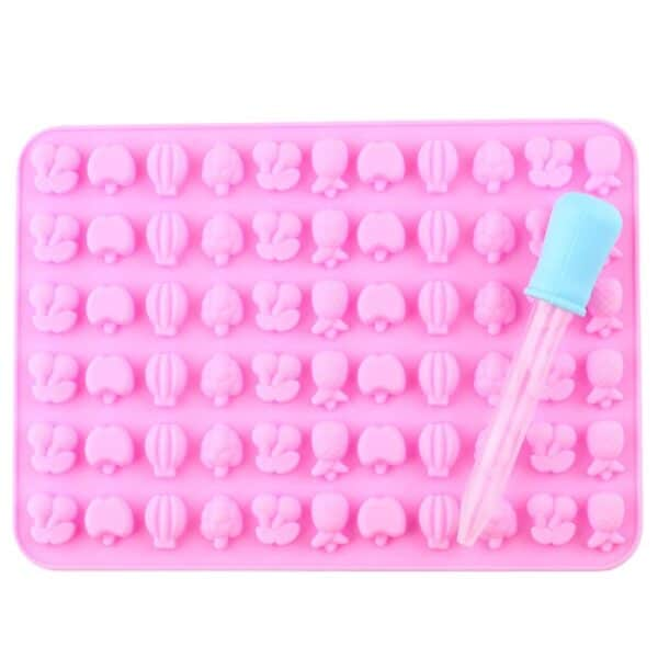 Mixed Fruit Silicone Mould