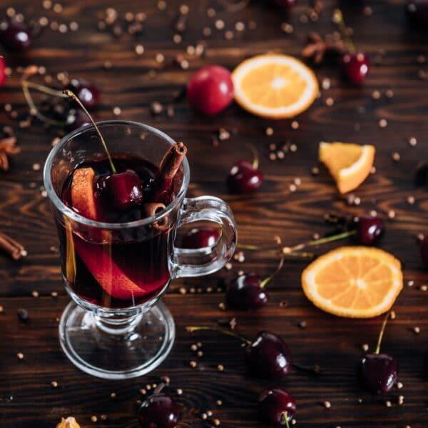 Black Cherry and Orange Spice